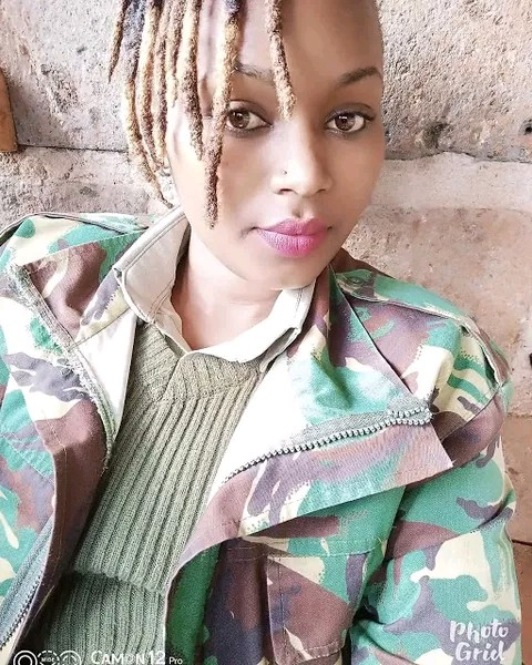 The most beautiful cop Mary Wanunu photos and images