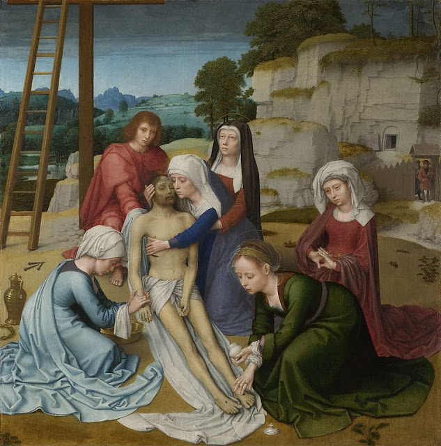 Gerard David - Lamentation - Google Art Project