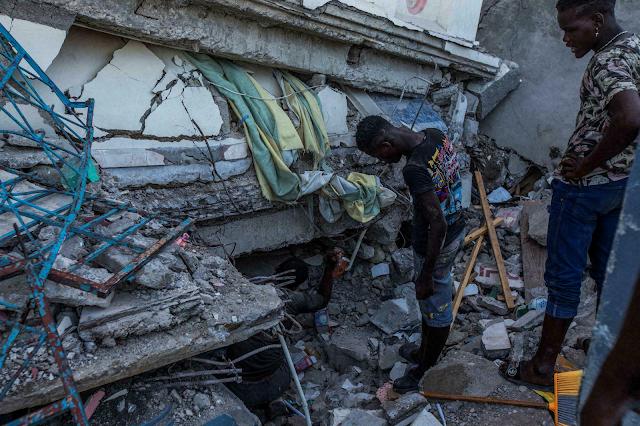 Haití: Aumentó a 1.419 muertes por terremoto