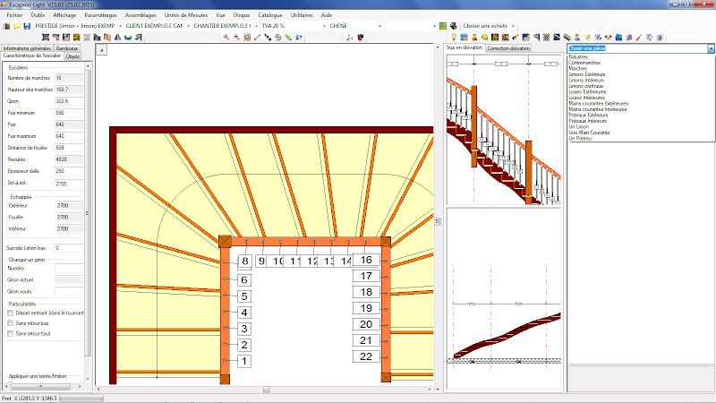 Logiciel escalier 3d gratuit id es d coration id es for Logiciel d architecture professionnel
