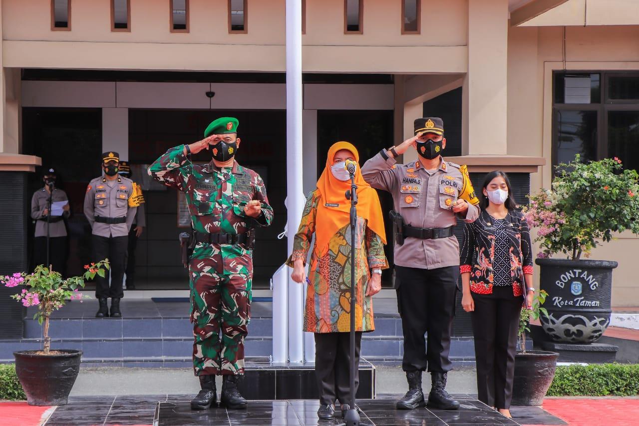 Kota Bontang Gelar Apel Gabungan TNI/POLRI Pengamanan Kegiatan Masyarakat