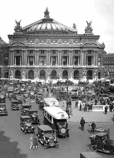 Fotografias antigas de Paris