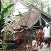 Angin Puting Beliung Porak Porandakan Rumah Warga di Sukabumi