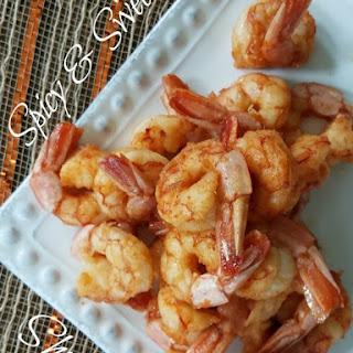 Sweet & Spicy Shrimp.