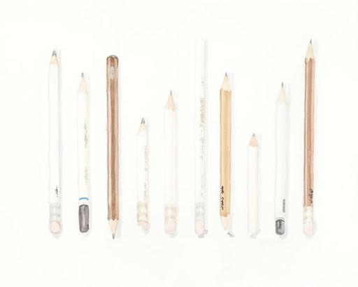 Pencils. Artist Lisa Hsia