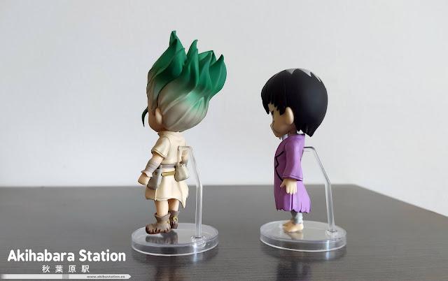 Review de los Figuarts Mini Ishigami Sneku y Asagiri Ren de Doctor Stone - Tamashii Nations