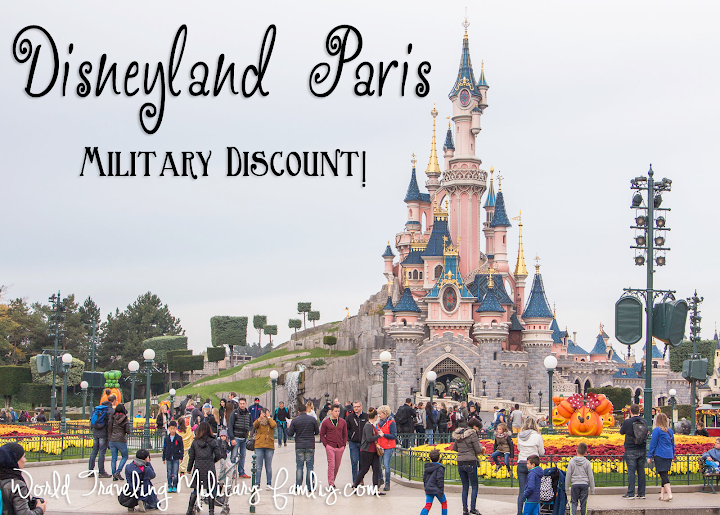 disneyland paris military discount world traveling military family. Black Bedroom Furniture Sets. Home Design Ideas