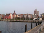 Το Rostock από το λιμάνι