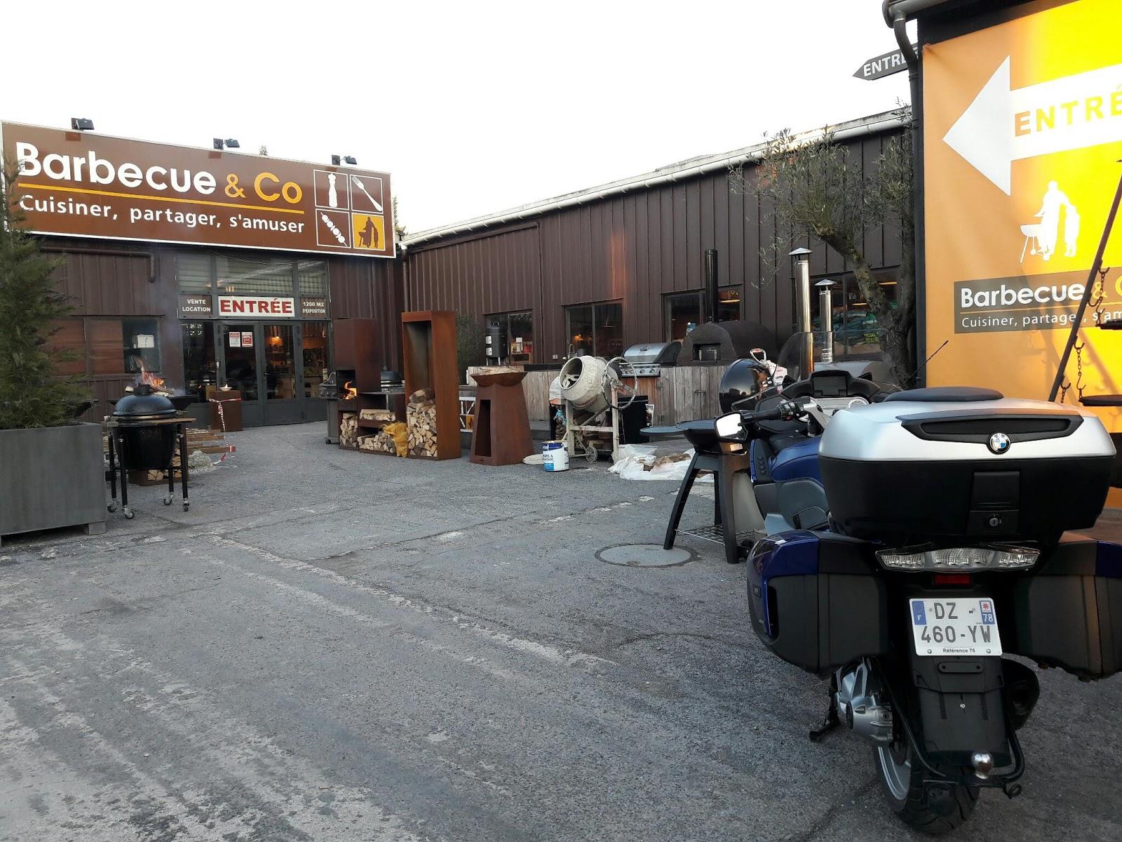 Barbecue & Co Feucherolles thebigalp: froid ? une bonne occasion de se réchauffer