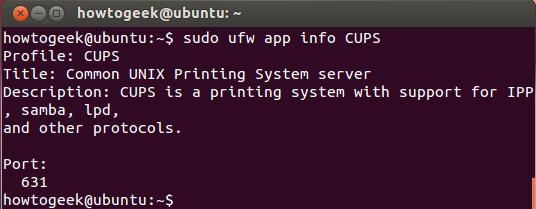 Ubuntu-firewall