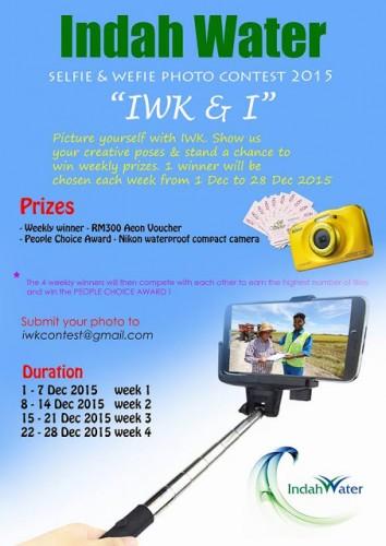 IWK Selfie & Wefie Photo Contest 2015