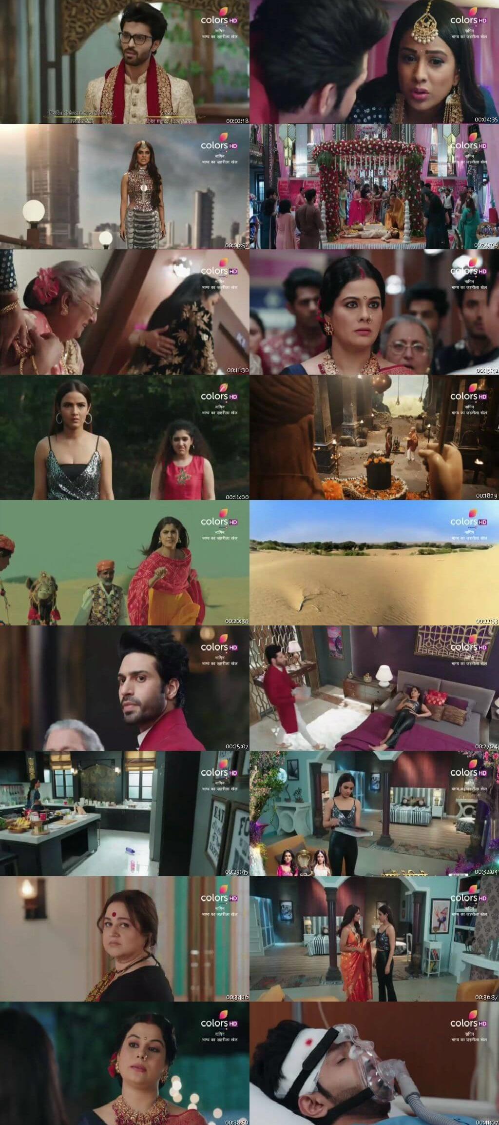 Screenshots Of Hindi Show Naagin Season 4 2020 Episode 07 300MB 480P HD