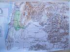ביצות כבארה במפת הקרן לחקר ארץ ישראל משנת 1880