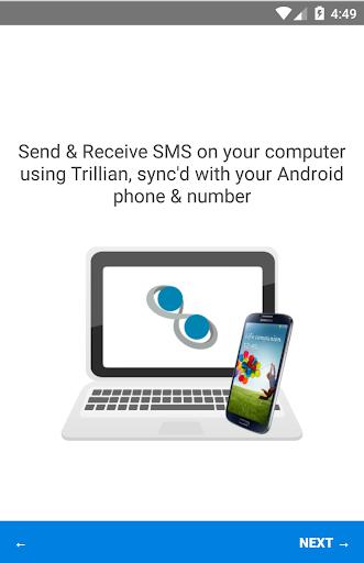 SMS Plugin for Trillian