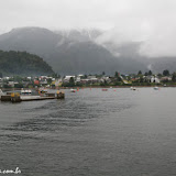 Puerto Chacabuco, já no continente, Chile
