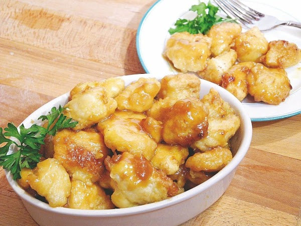 Honey Mustard And Maple Glazed Chicken Bites Recipe