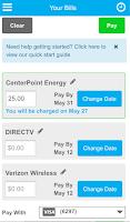 Screenshot of Evolve Money - Bill Pay