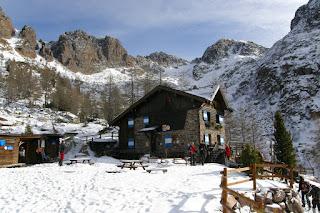 Corso Escursionismo in Ambiente Innevato 2012