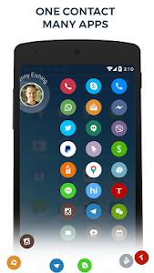 Contacts Phone Dialer: drupe v2.008.0211X-Rel