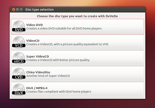 DeVeDe 3.23.0 su Ubuntu