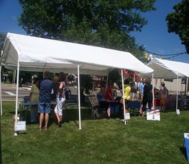 West PA Book Festival attendees