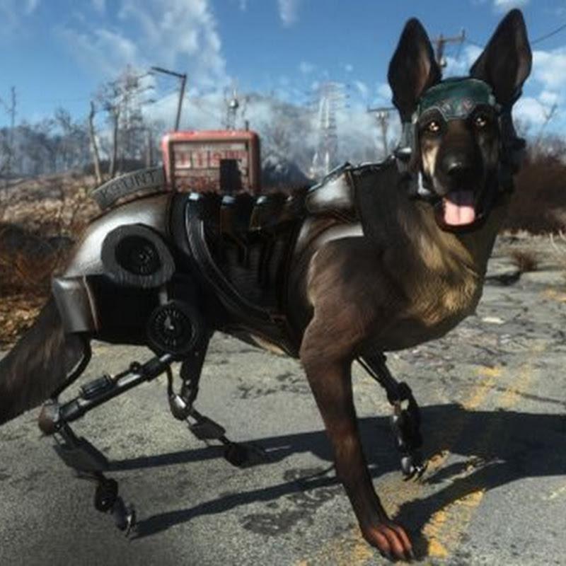 Diese Mod transferiert den Cyberhund Rex aus New Vegas in Fallout 4