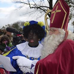 Aankomst Sinterklaas 21 nov. 2015