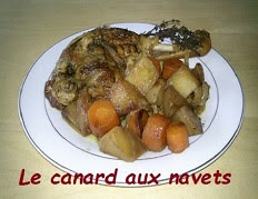 Le canard aux navets