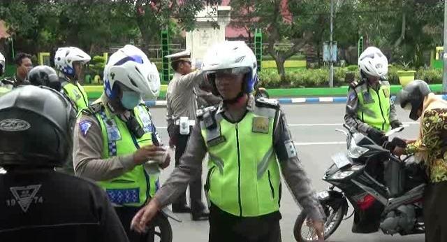 Polres Jombang Berlakukan Tilang Online