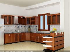 Tủ bếp đẹp MS-104