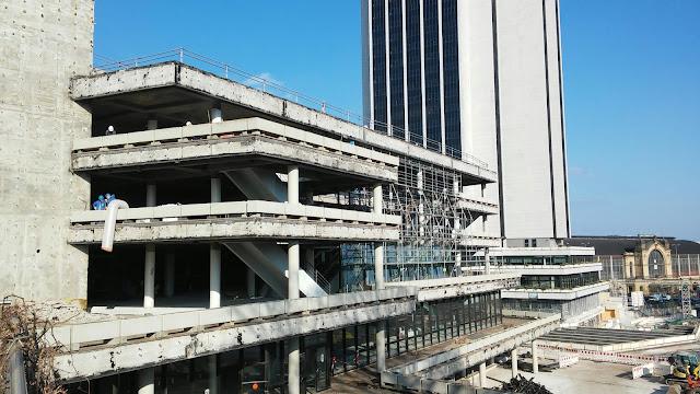Baustelle CCH Umbau 2017