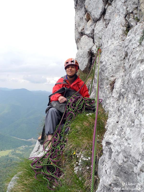 2014.06.28 - P Craiului - Traseul Lespezile Lirei 5lc, 6+7- A0, 7+
