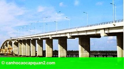 Hình 1: Sẵn sàng thông xe cầu Cổ Chiên nối tỉnh Bến Tre - Trà Vinh