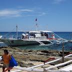 Diveboat at Apo Island (Negros)