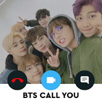 ? BTS Call You - Fake Video Voice Call with BTS