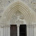 Collégiale Notre-Dame de Crécy-la-Chapelle : porte occidentale