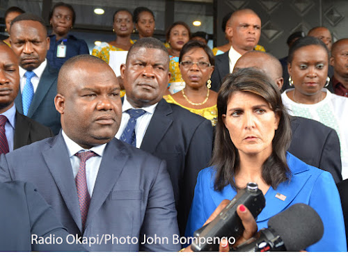 Forum des As : «Nikki Haley s'oppose au vote électronique en RDC»