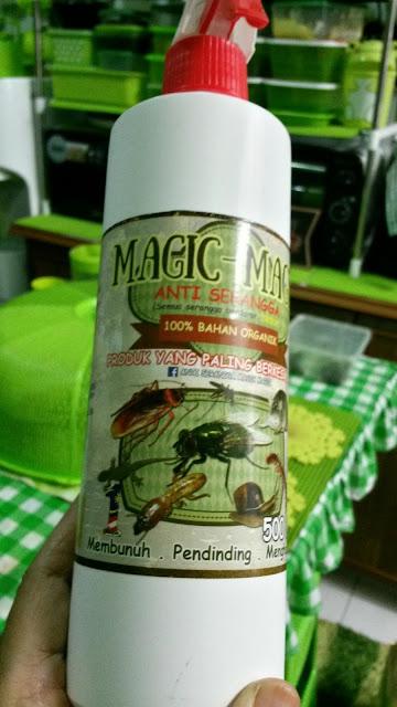 SPRAY MAGIC-MAGIC YANG BEGITU SENANG MEMBUNUH