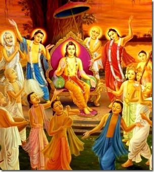 [Lord Chaitanya's sankirtana movement]
