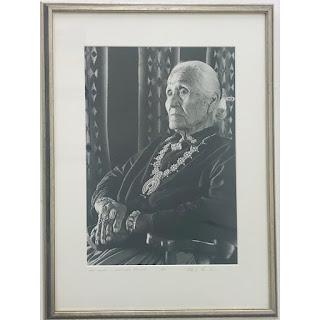 Signed Portrait Photograph