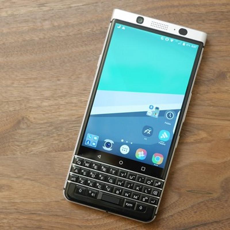 BlackBerry KEYone レビュー: 完成度は高いけど日本語入力に不安あり