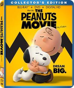 peanuts dvd