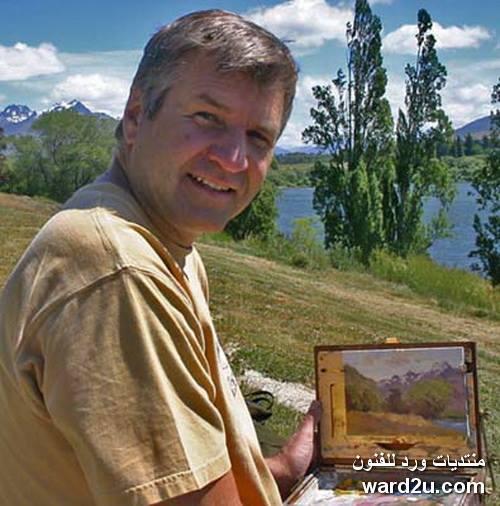 الفنان الانطباعى الامريكى Brent Jensen