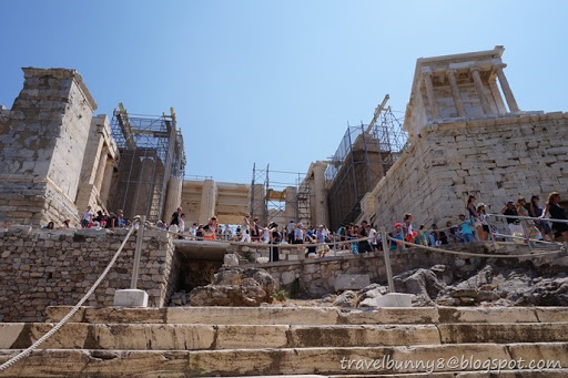 My Visit To The Acropolis Ended Here But My Explore Around Athens City  Continued.