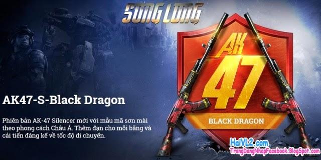 súng AK47 mới trong game đột kích