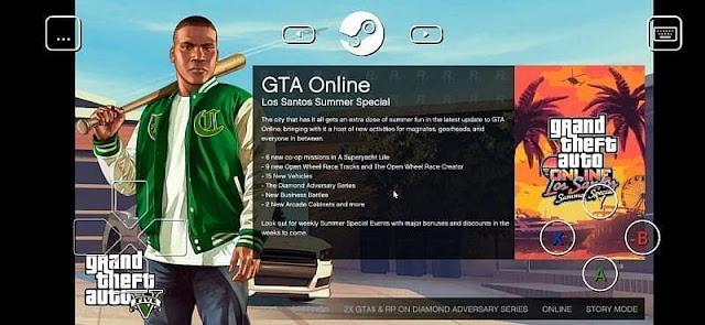 Oyunu Steam Link aracılığıyla yansıtarak Android akıllı telefonlarda GTA 5 nasıl oynanır: Adım adım kılavuz ve ipuçları