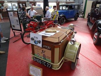 2018.05.27-041 triporteur Peugeot 1952 et moto Derny l'Equipe