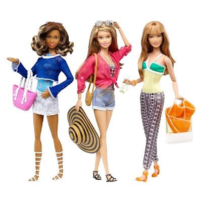 Búp bê Barbie phong cách nghỉ mát Barbie Glam Vagation