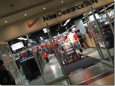 Nike, Mitsui Outlet Park