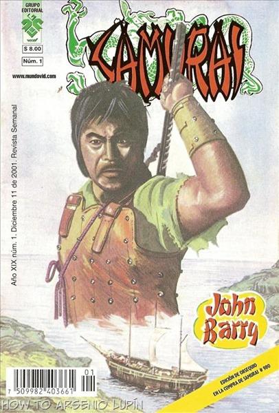P00001 - Samurai - John Barry #1